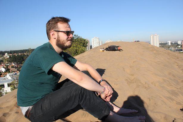 Image: Joshua on a beach