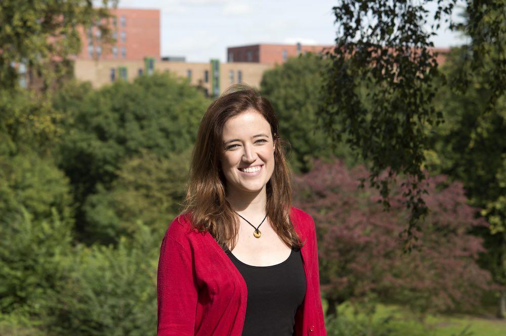 Tatiana in Peel Park campus