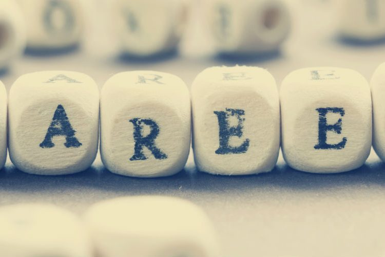 Image: 'Careers' spelled out with blocks