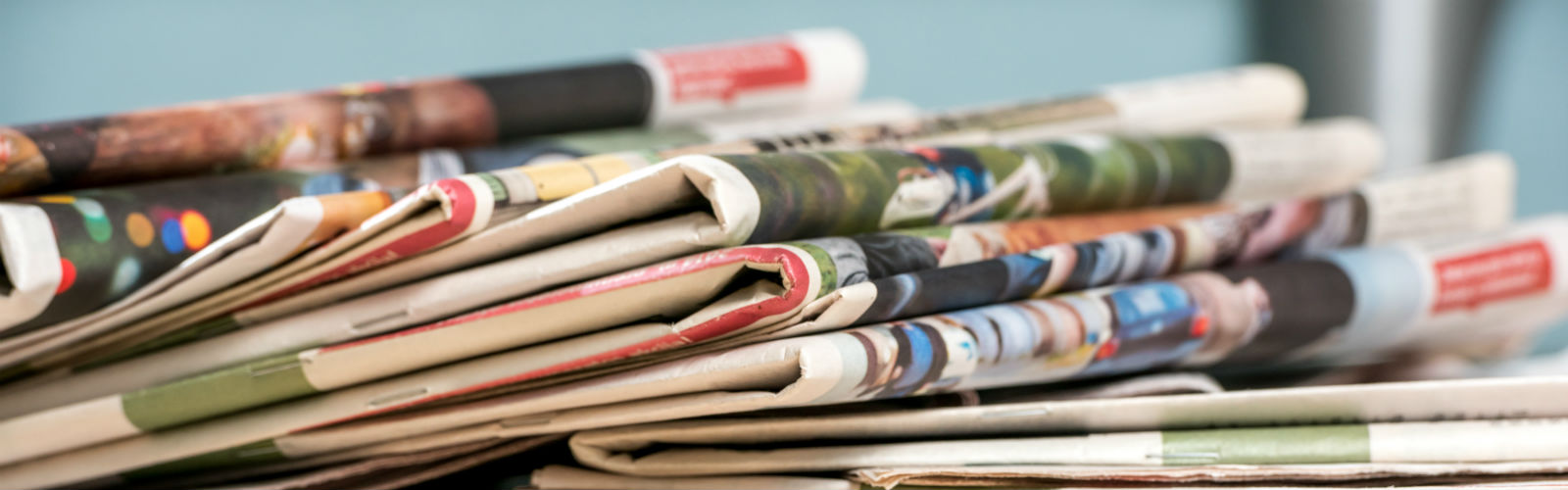 Image: newspaper stack