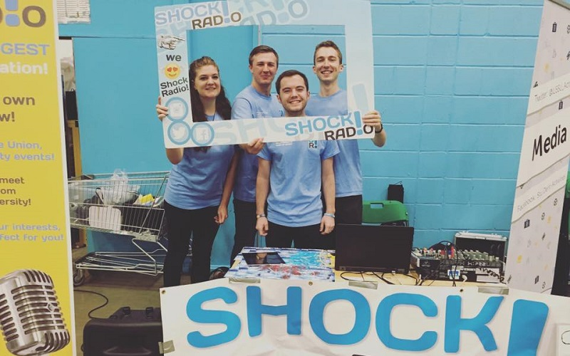 Shock Radio at the Student Fair