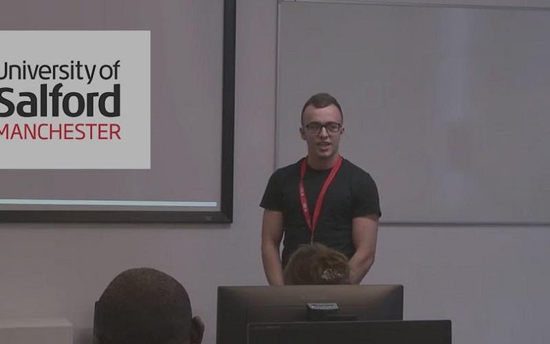 Tom Mullarkey presenting