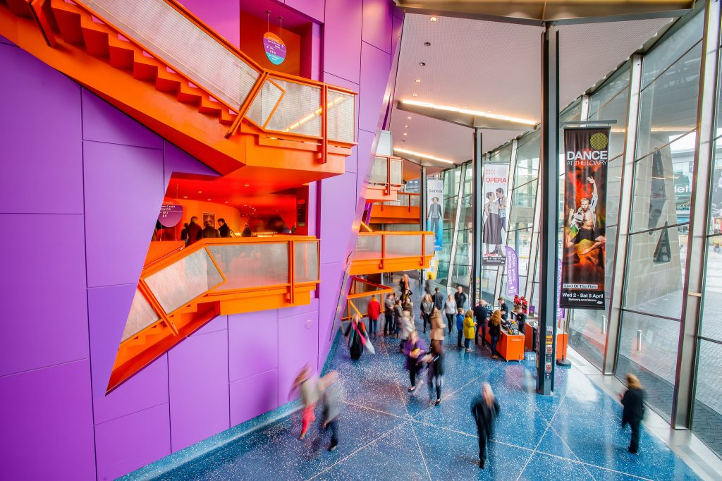 The Lowry foyer