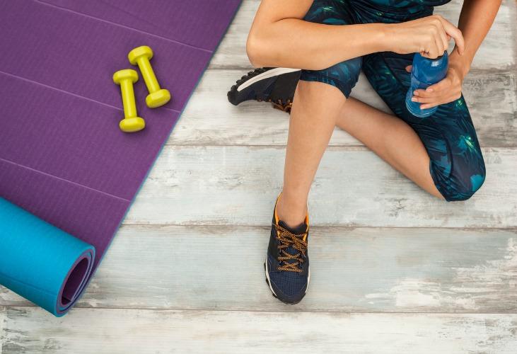 Image: Home gym
