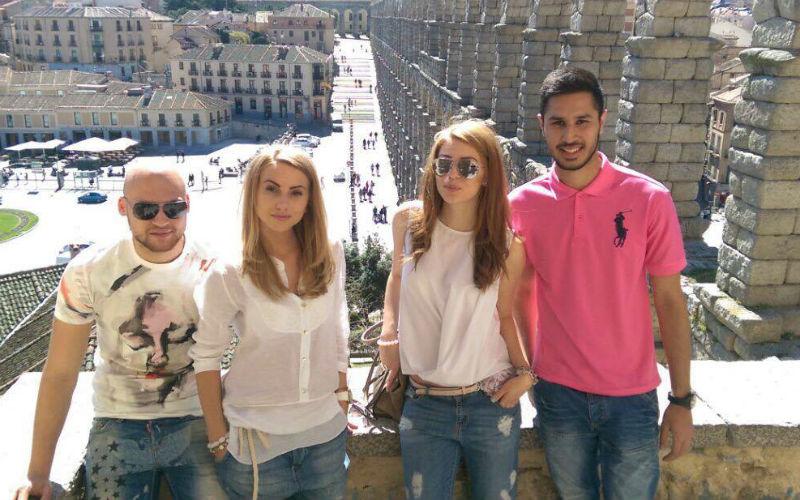 Maria Varsanova, Law student, Erasmus, Madrid, friends