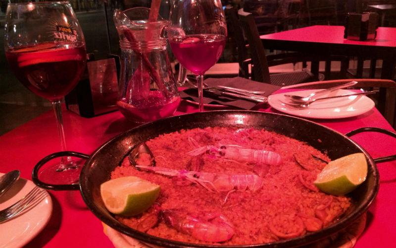 Maria, Erasmus exchange, local Spanish cuisine