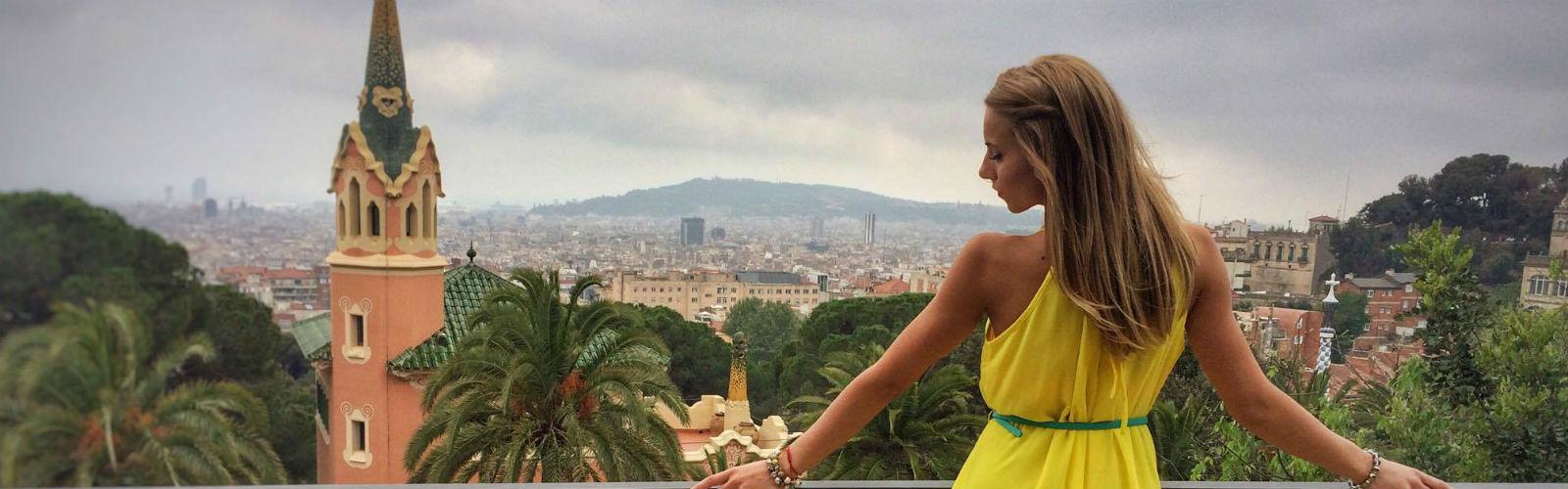 Maria Varsanova, a law student, in Madrid - Erasmus Exchange Programme