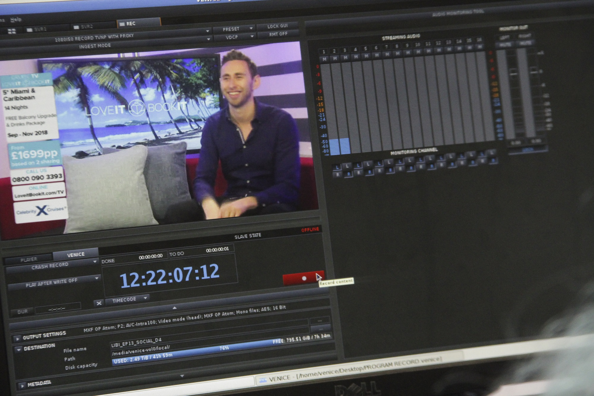 Dan on screen