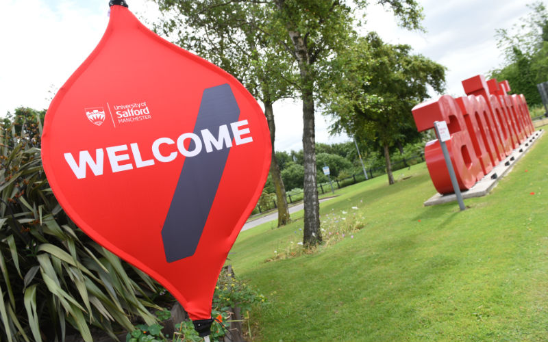 The University of Salford Open Day