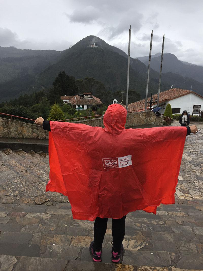 Image: Rachel Norton in Colombia