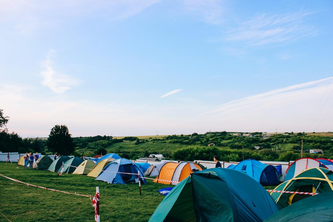 Image: Festival Tents