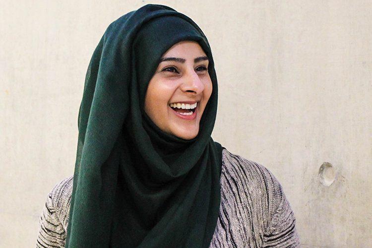 Image: Sadaf Smiling