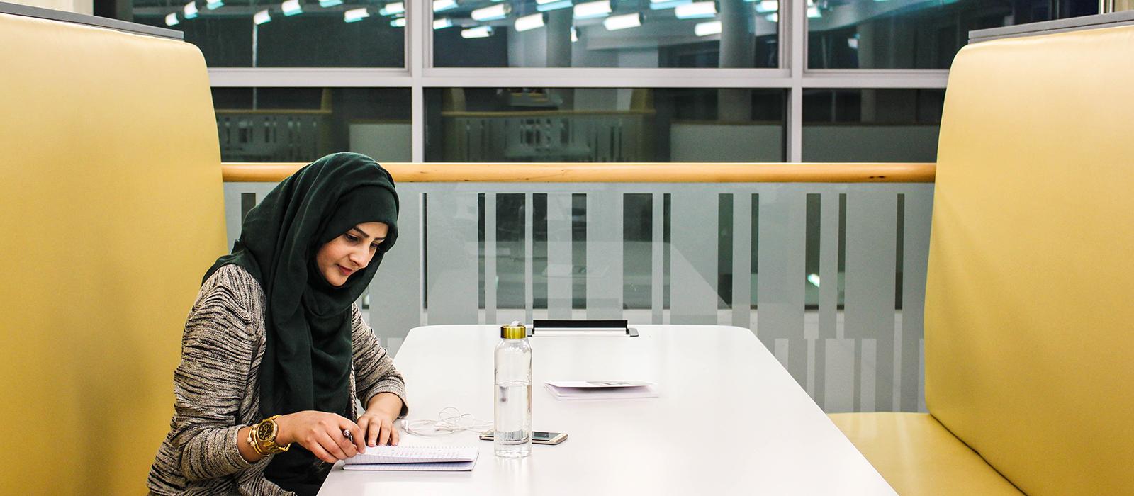 Image: Sadaf Studying