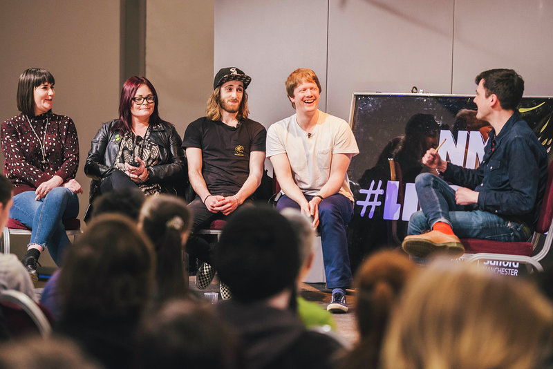 Image: NME conference panel