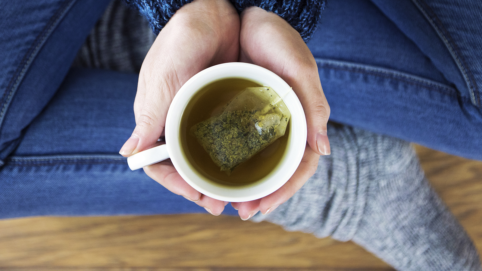 mug of herbal tea