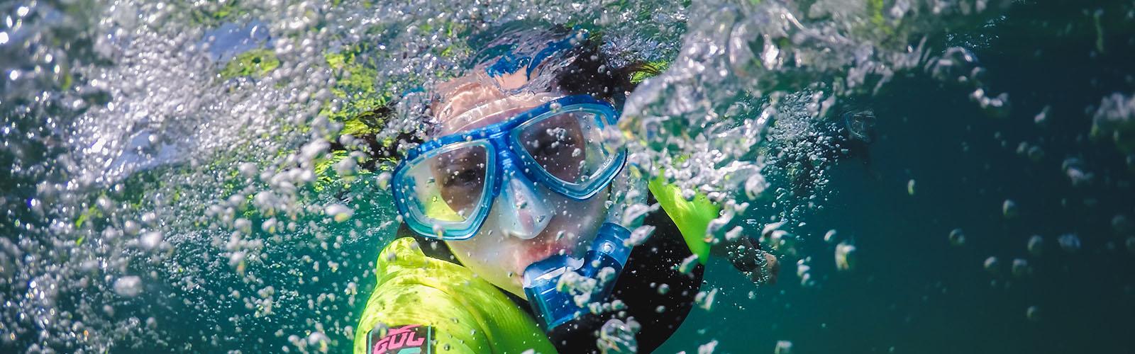 Evie, Scuba Diving