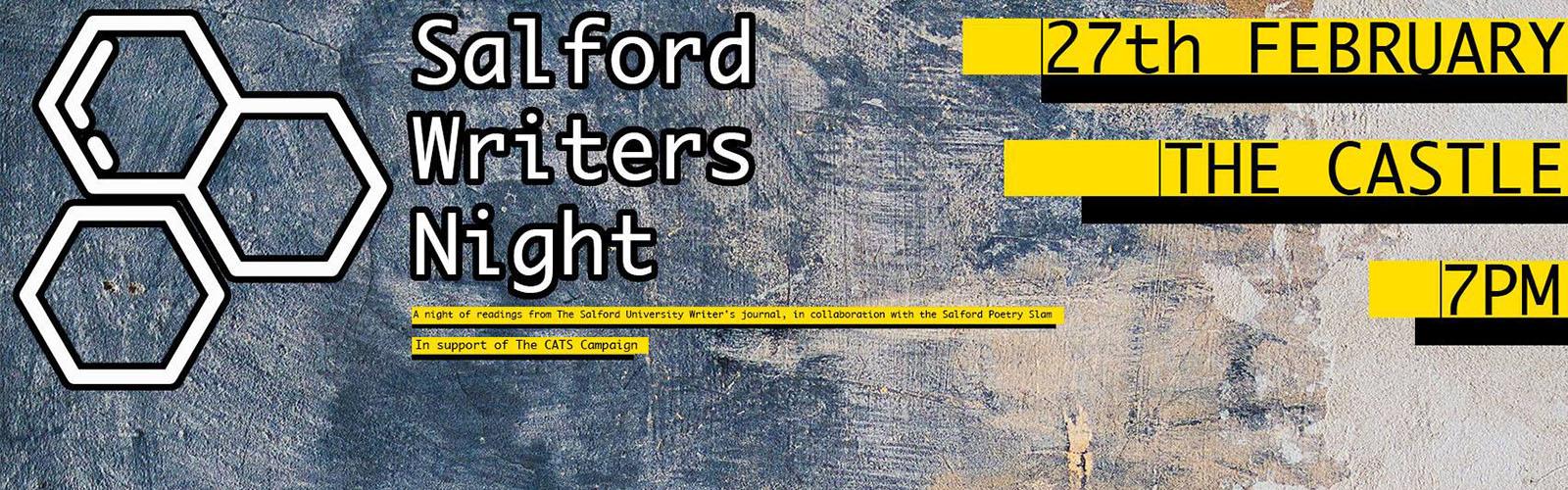 Salford Writers Night Poster