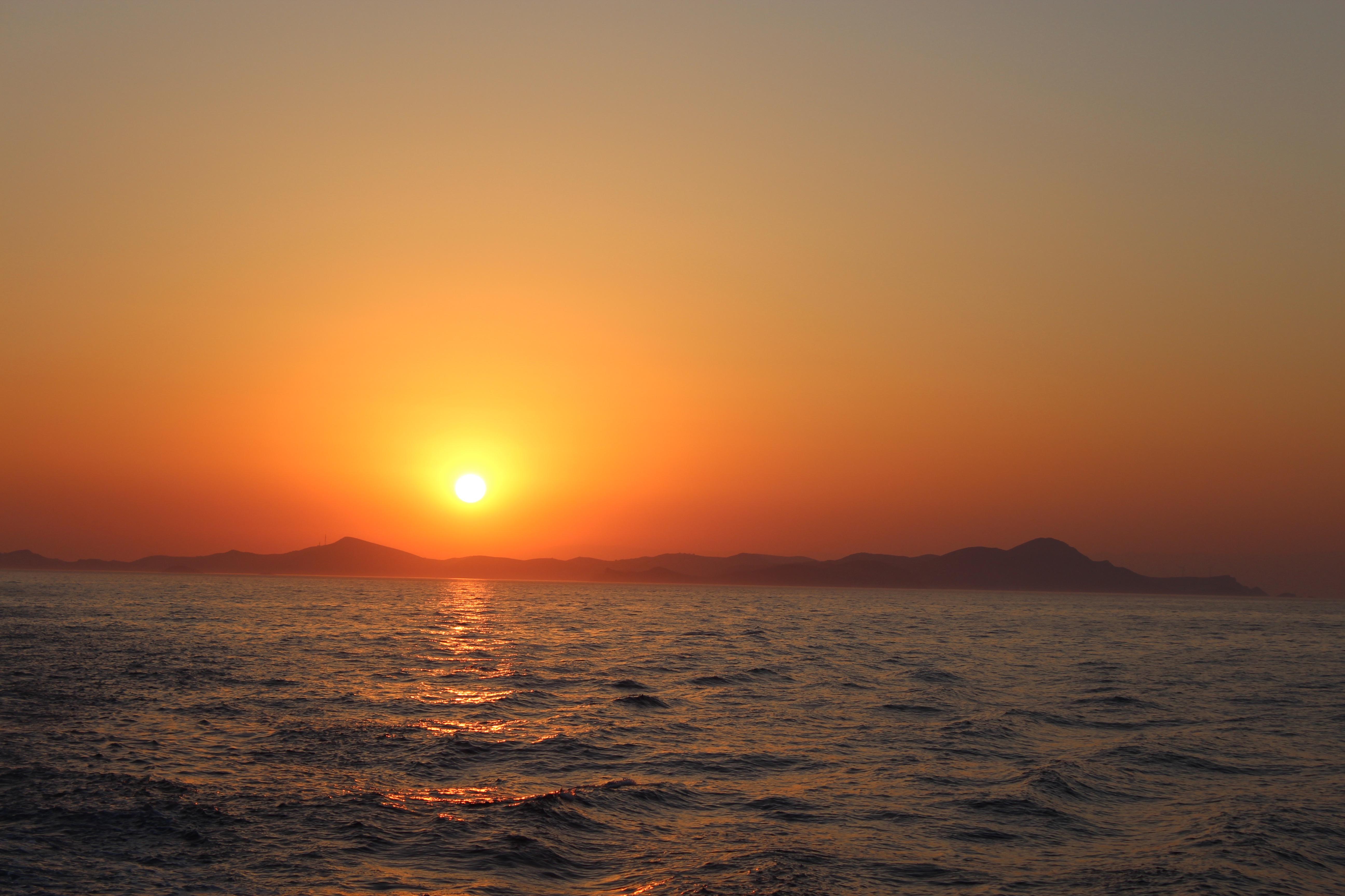 Evie ,Sunset