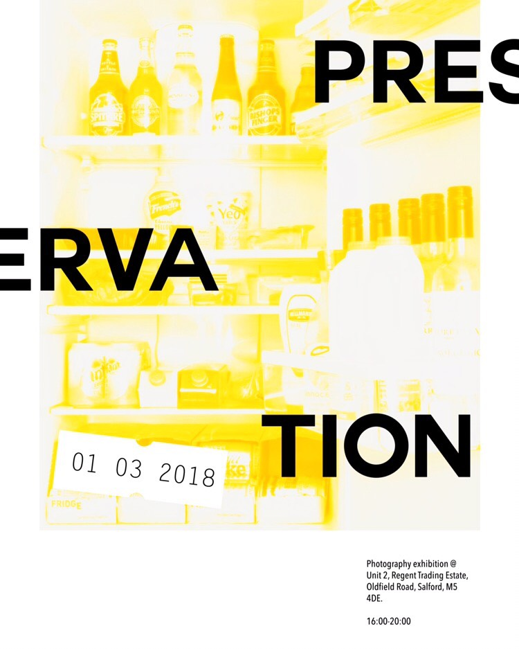 Image: Poster for preservation photography exhibition