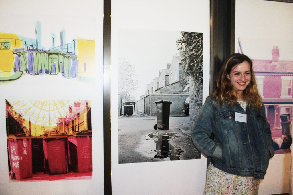 Image: Recent graduate Claudia Alonso with her Photography