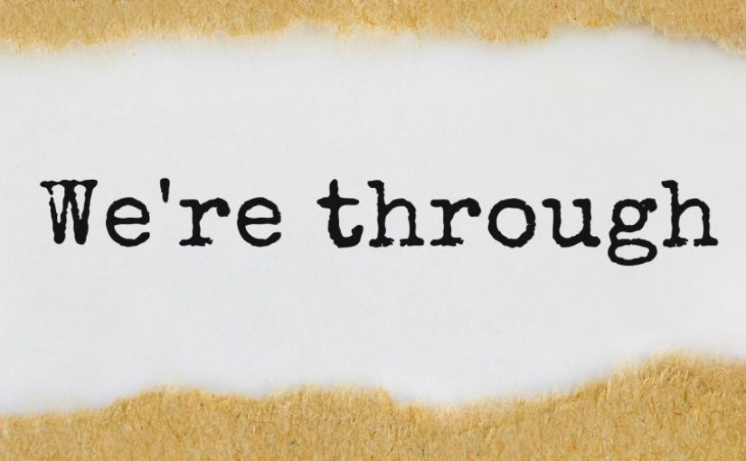 "Image: ""We're Through"""