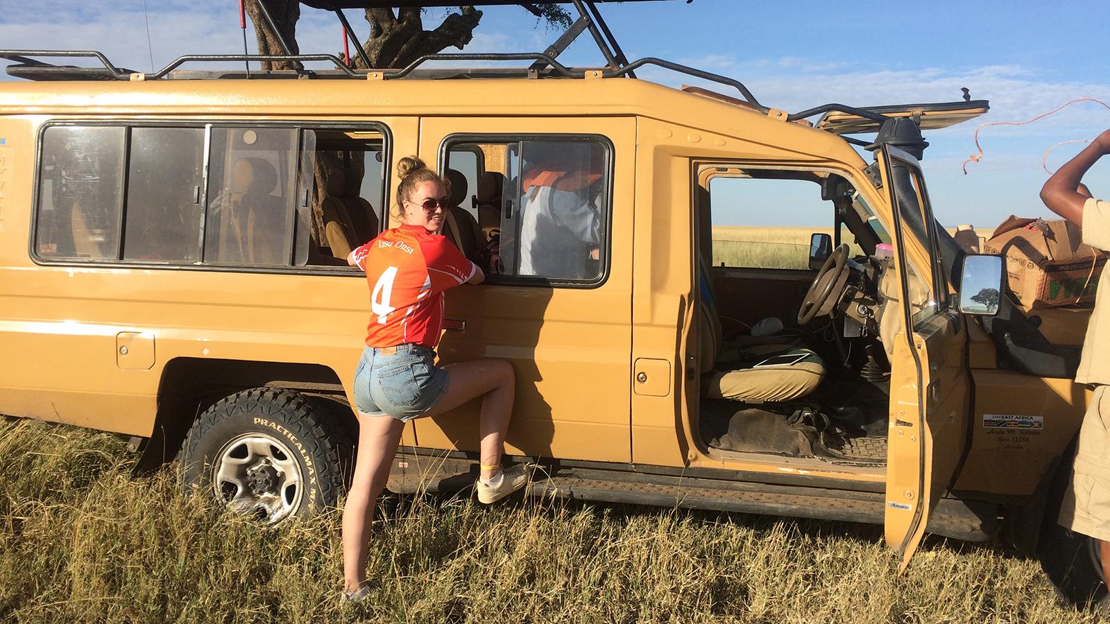 Image: Sophie on Safari