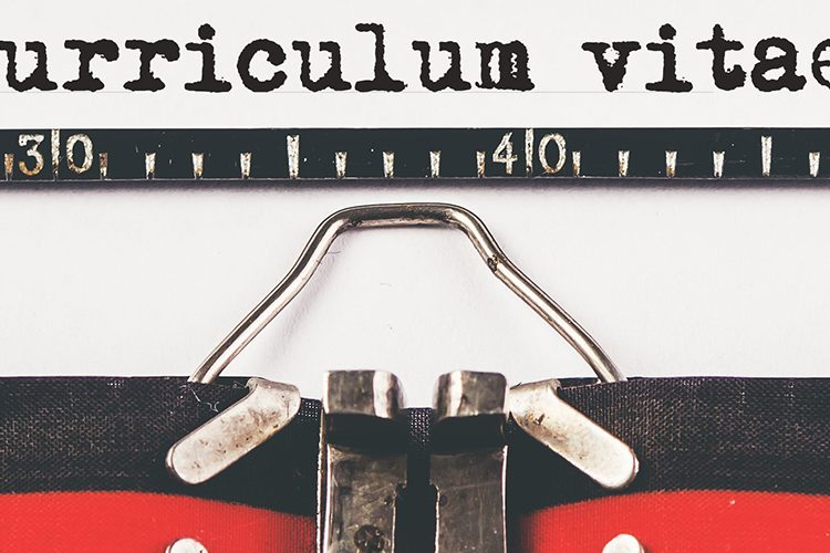 Image: CV Typewriter