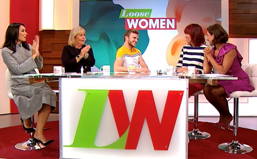 Image: Lee with the Loose Women panelists