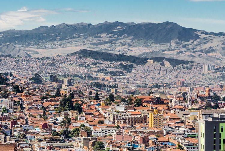 Bogota, Colombia Skyline