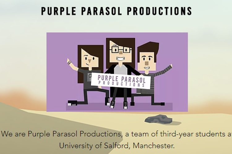 Image: Purple Parasol Productions Header