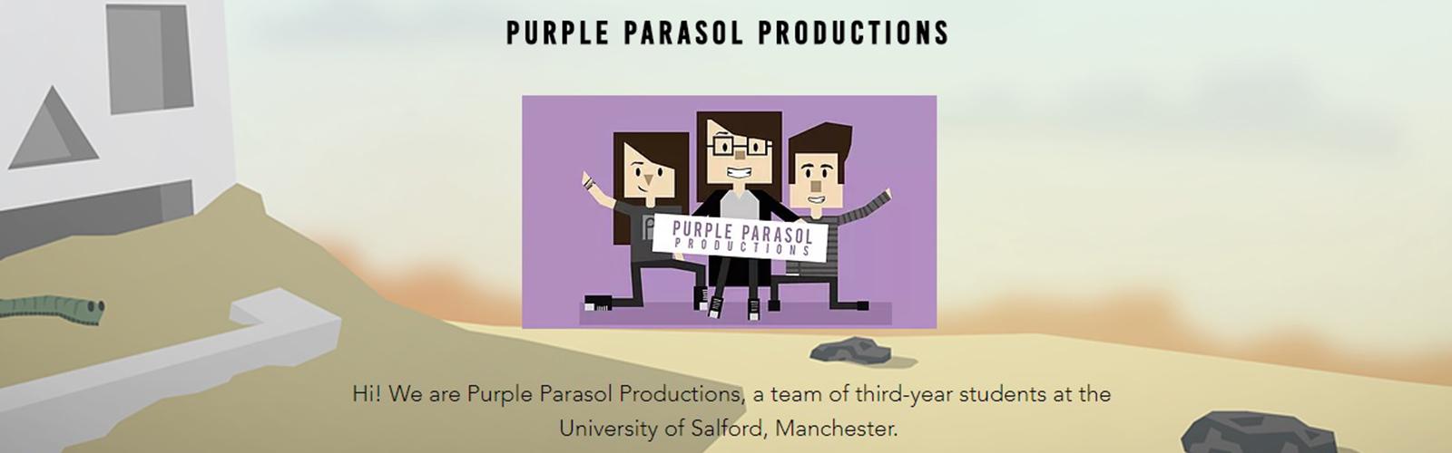 Image: Purple Parasol Productions Header