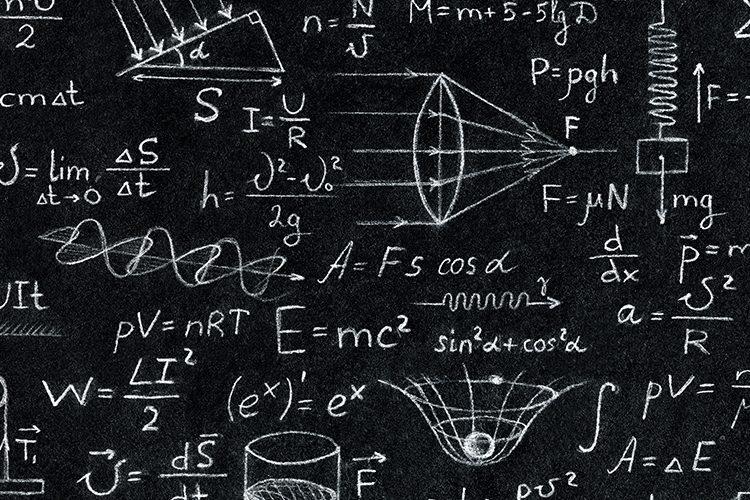 Image: Science blackboard