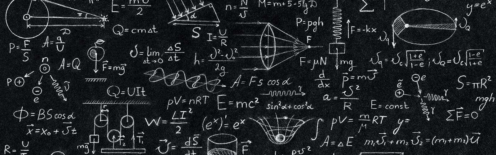 Image: Science blackboard