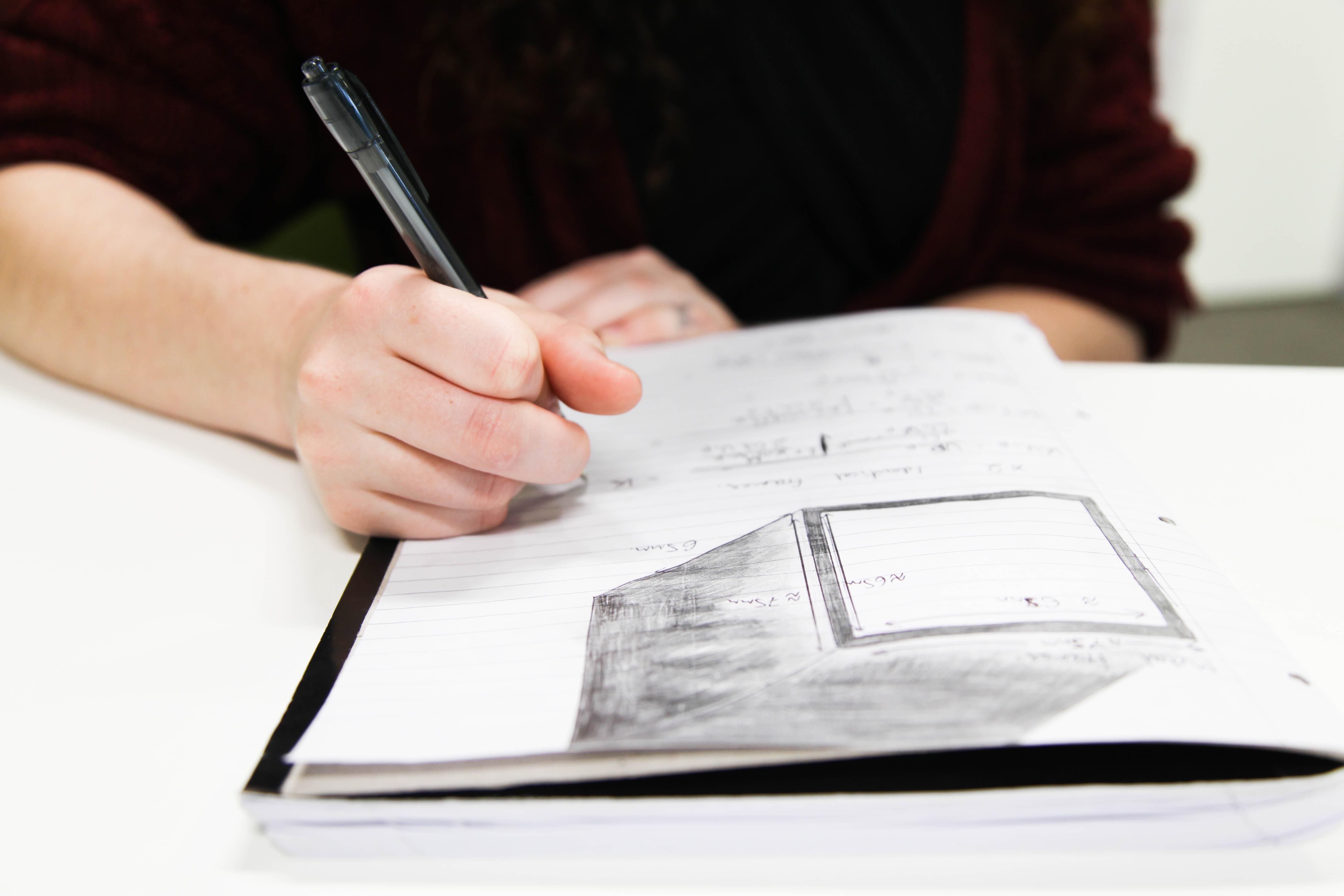 Image - Student writing