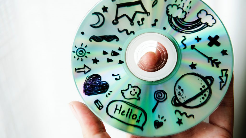Image: Disk Graffiti