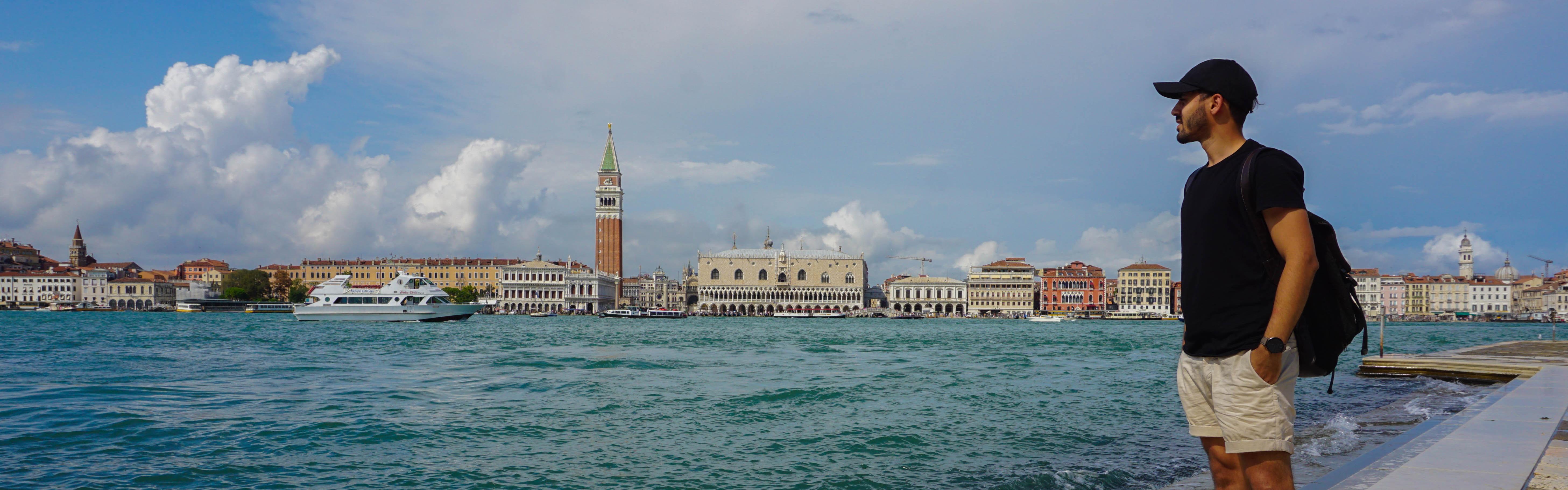 Image: Ari in Venice