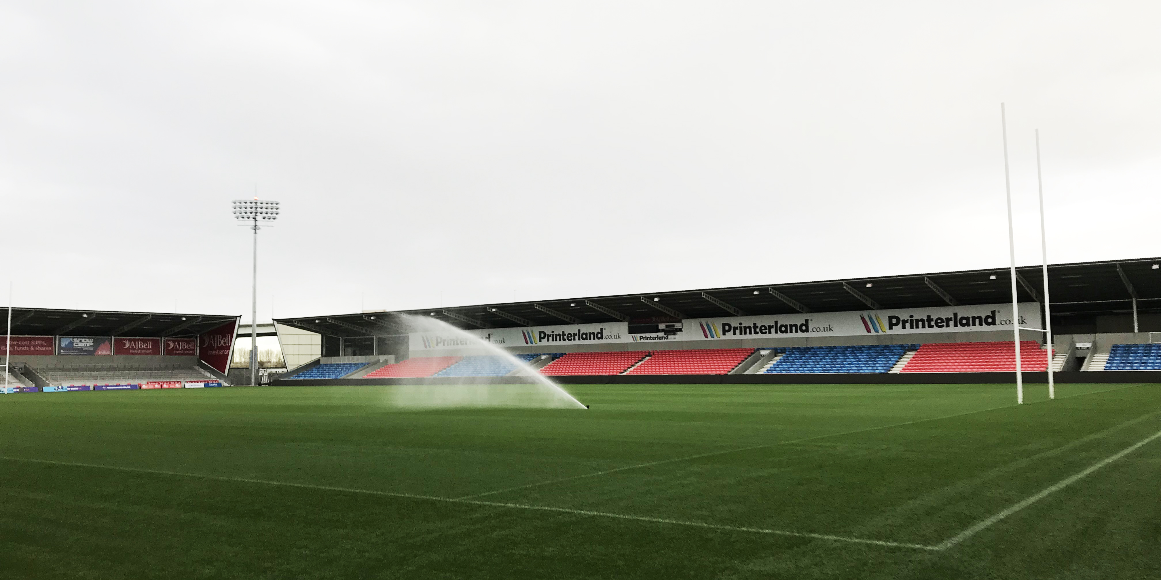 Image: Rugby pitch