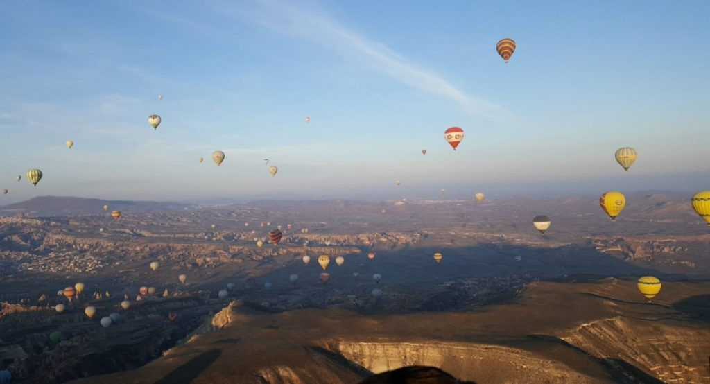 Michael's picture - hot air balloon tour