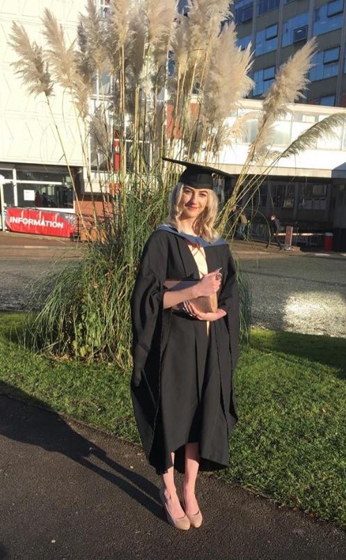 Karina's graduation