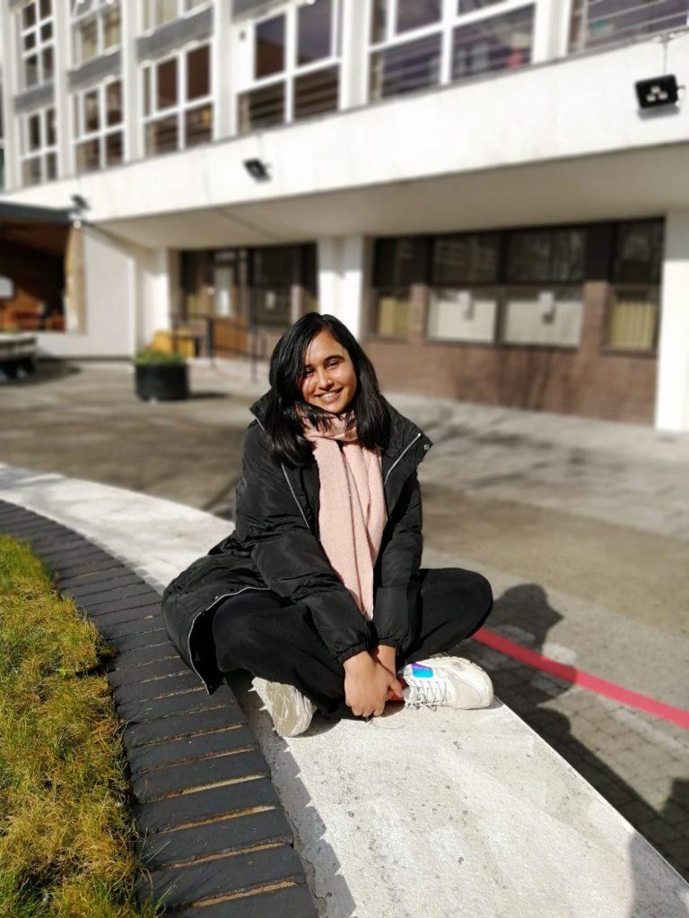 Megha on campus