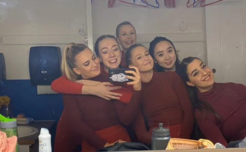MA Dance Students at Salford