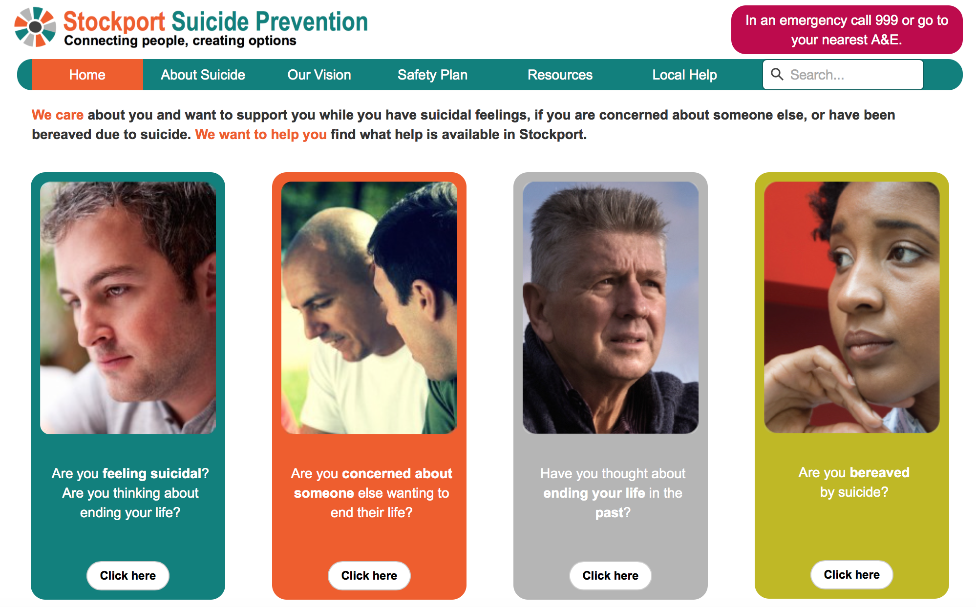 how to prevent suicide We can all help prevent suicide the lifeline provides 24/7, free and confidential  support for people in distress, prevention and crisis resources for you or your.