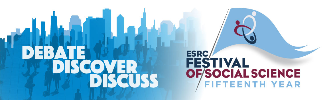 ESRC Festival 15th Year Banner
