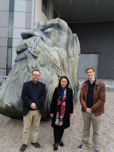 Prof Alaric Searle, Dr Wang Wei (Nankai University) and Dr Moritz Pieper