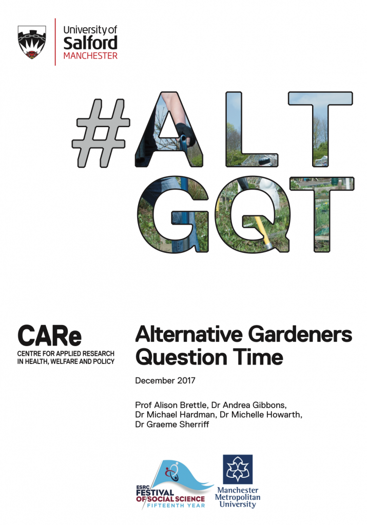 Alternative Gardeners Question Time