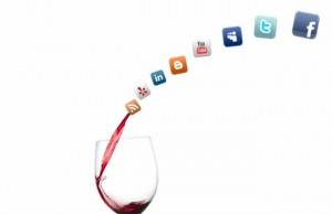 wine social media