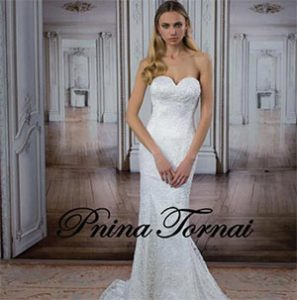 Pnina Tornai wedding dress from Ivory Promise Brides